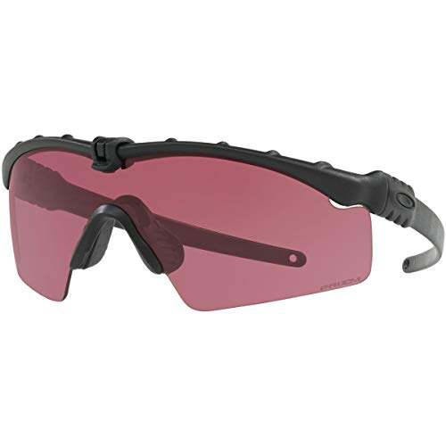 Oakley Men's Standard Issue M Frame 3.0 Shooting Specific Sunglasses,OS,Matte Black/Red (Oakley Penny)