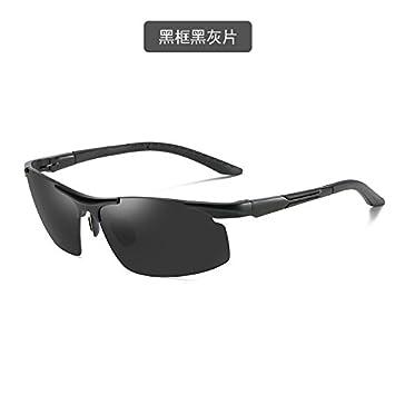 Lunettes de soleil - Lunettes de sport polarisées - Lunettes de conduite avec monture en métal Incassable - 100% anti UV400 pYX0yBOvV