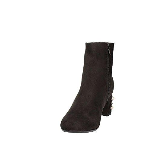 0359 Ankle SHOES Boots GRACE Women Black nxgqfBw