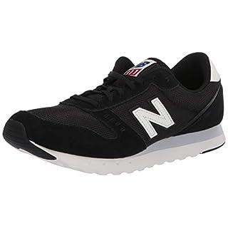New Balance Women's 311 V2 Sneaker, Black/White, 10 W US