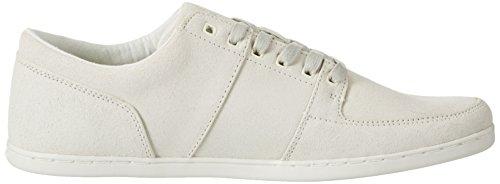 Boxfresh Herren Spencer UG WXD SDE Off Wht/OLV Grn Sneaker, Elfenbein (Off-white)