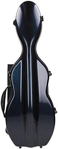 Estuche para violín fibra ultra Light 4/4 Case de color azul marino M-Case: Amazon.es: Instrumentos musicales