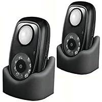 PIR Motion Detector and Camera 2 Pack (DVR-01) by Dakota Alert