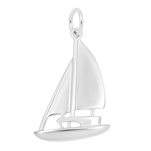 Necklace & Bracelet Charms, Nautical & Beach Theme Sterling Silver Jewelry by Silver on the Rocks ()