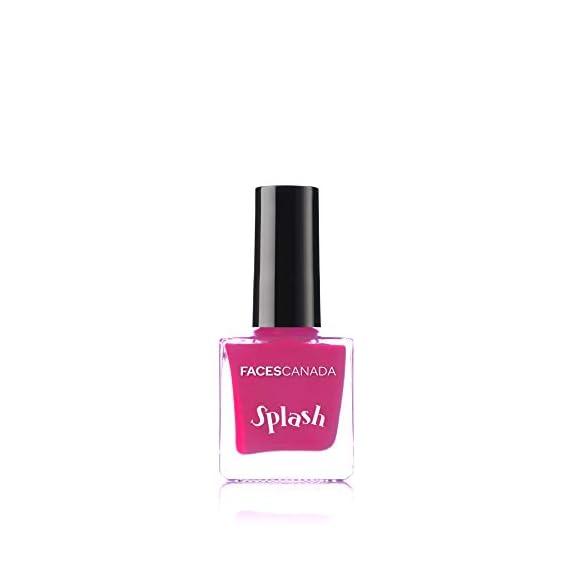 Faces Canada Splash Nail Enamel, Pink Flemenco 21, 8 ml