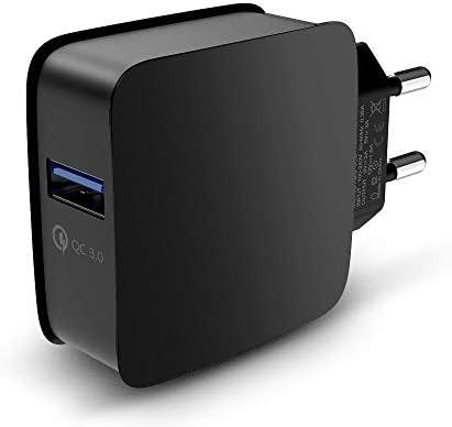 Extensión de Potencia Cargador de Pared USB QC 3.0 Carga ...
