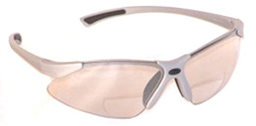 VenusX ANSI Z87+ Bifocal Safety Reading Glasses Indoor-Outdoor Lenses +2.0 Power 3 Pairs