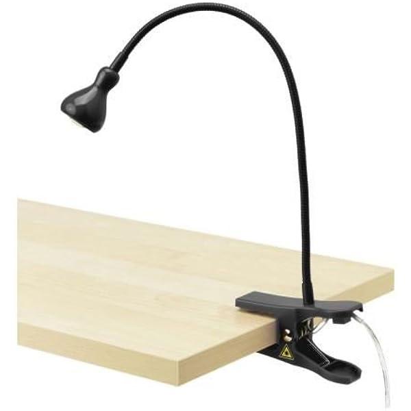 IKEA Foco Pinza de Pared, Negro: Amazon.es: Iluminación