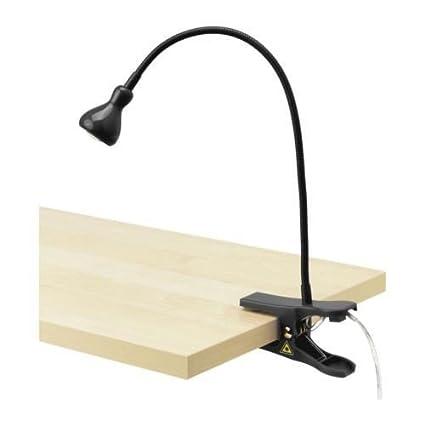 Ikea Spot à Pince Mural Noir