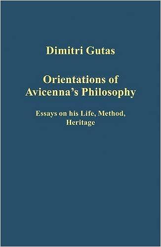 amazoncom orientations of avicennas philosophy essays on his  orientations of avicennas philosophy essays on his life method heritage  variorum collected studies st edition