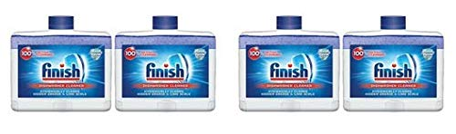 Finish Dual Action Dishwasher Cleaner: Fight Grease & Limescale, Fresh, 8.45oz (3 Pack(8.45 Oz))