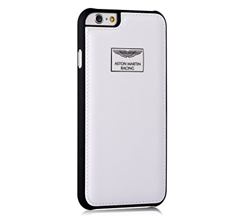 Aston Martin Racing White Leather Black Case For Iphone 6 Plus Buy Online In Japan At Desertcart