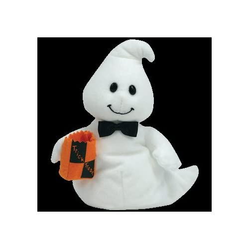 TY Beanie Baby - GHOSTIO the Boy Ghost Price Tracking 7e1ca0ad9f17