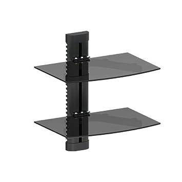 mount world 2 shelf lcd led plasma tv wall mount bracket for blu - Tv Mount With Shelf