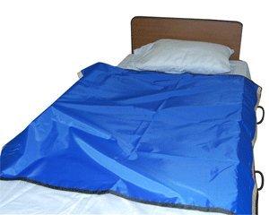 "30?Bed Bolster System with Slider Sheet & 24""/34"" Wedges - 24''L w/50x42'' Mesh Slider Sheet - 2 ST/CS"