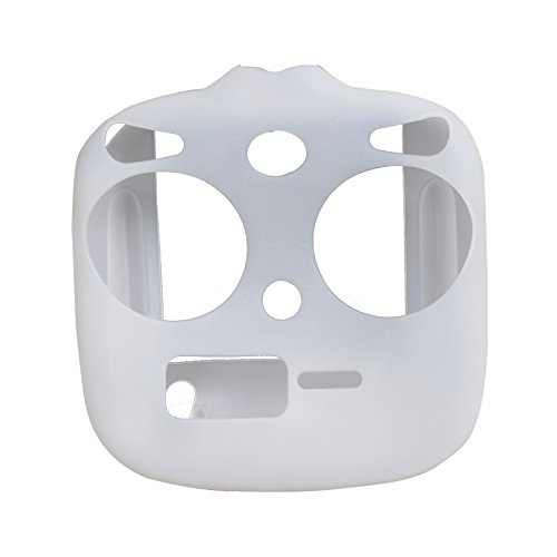 Protective Remote Decal Skin Wrap Slicone Stickers for DJI Phantom 3 Standard Control (White) - Slicone Skin