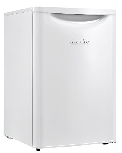 Retro Appliance - Danby DAR026A2WDB Contemporary Classic Cubic Feet Compact All Refrigerator, White