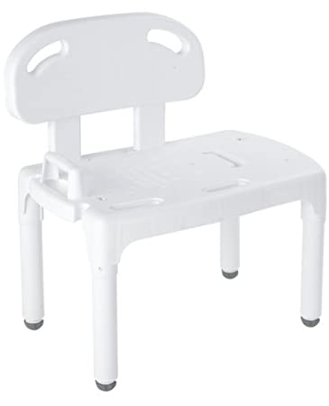Amazon.com: Carex Universal Transfer Bench, Bath Transfer Bench ...