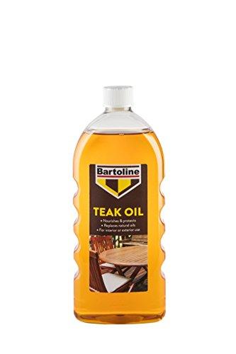 Aceite de teca Bartoline, 1 litro: Amazon.es: Bricolaje y herramientas
