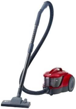 LG VC 3120 NRTQ - Aspiradora de trineo sin bolsa (2000W, 1,4 L, 82Db, Filtro Hepa 12, Accesorio cepillo para parket), color rojo: Amazon.es: Hogar