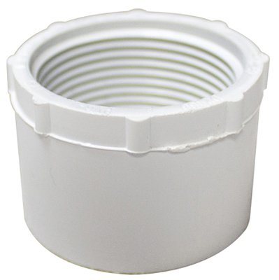 Genova Products 34275 PVC Pressure Pipe Fitting, Reducer Bushing, White PVC, 3/4 x 1/2-In. - Quantity - Genova Bushings White