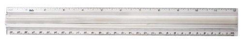 Helix 2X Magnifier Ruler, 12 Inch / 30cm (61002)