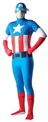 Rubie's Men's Marvel 2nd Skin  X-LargeCaptain America