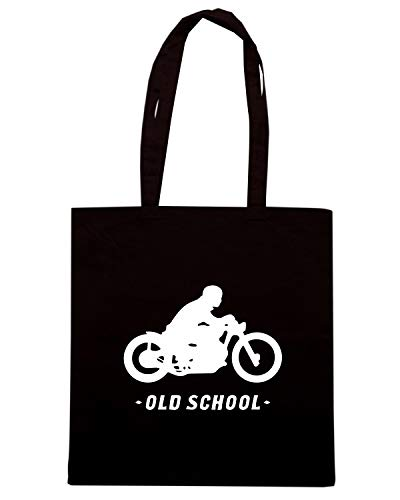 OLD TB0140 Speed Shirt Borsa SCHOOL Shopper Nera wqA67zF