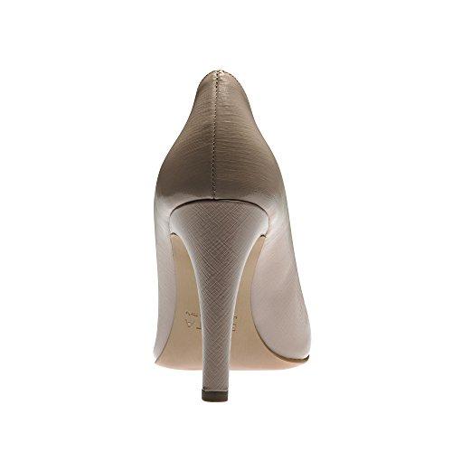 de Piel Shoes vestir de Hellbeige Evita para Zapatos Beige mujer nqXAUdE