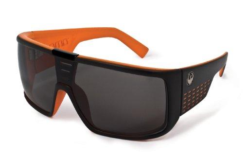 DRAGON Domo Sunglasses, Black Orange, Grey