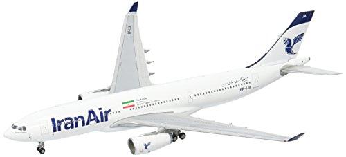 GeminiJets Iran Air A330-200 EP-IJA New Livery 1:400 Scale Diecast Model Airplane