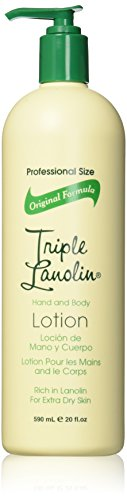 TRIPLE LANOLIN Hand and Body Lotion, 20 Ounce (Pack of (Lanolin Moisturizing Body Lotion)