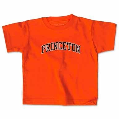 Princeton - Toddler - Arch Tee Orange 4T