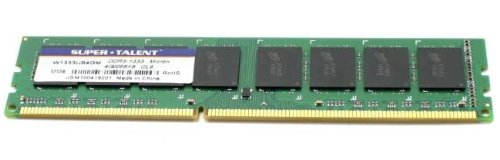 Super Talent Computer Ram (Super Talent 1.5V/CL 9 DDR3 1333 4 GB/256x8 Micron Chip Memory W1333UB4GM)
