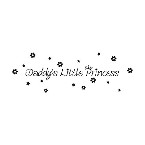 Little Princess Vinyl Decal Art Wall Sticker DIY Home Room Decor - Princess Personalized Plaque