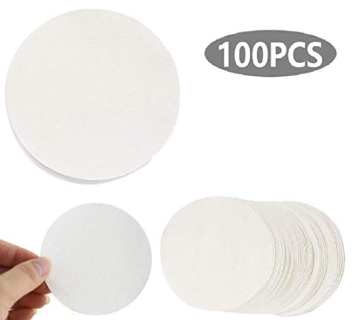 100 X Qualitative Filter Paper, Fast (20-25μm), Lab Filtration, (110cm)