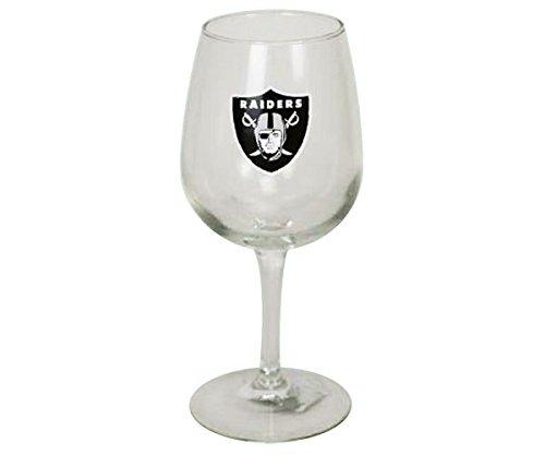 The Memory Company Oakland Raiders 12.75 oz Stemmed Wine Glass