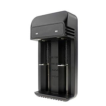 TOOGOO Cargador Inteligente Dual Solts para BateríA de Litio ...