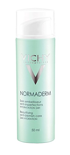 Price comparison product image Vichy Normaderm Beautifying Anti Acne Moisturizer for Oily Skin and Acne-Prone Skin, 1.69 Fl. Oz.