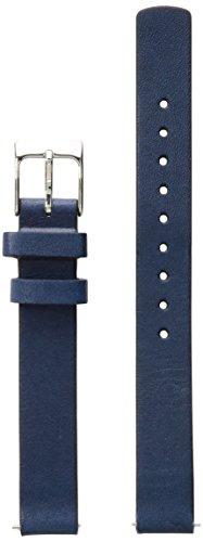 Skagen SKB2043 12mm Leather Calfskin Blue Watch Strap (Watch Bands Skagen Replacement)
