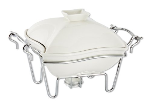 Godinger Ceramic Covered Baker with Stand -