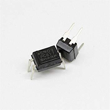 BloomGrün Co. 10pcs PC817 PC817C EL817 817 Optocoupler Sharp Dip-4 Qualitäts-QC