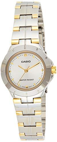 Casio Enticer Analog Silver Dial Women #39;s Watch   LTP 1242SG 7CDF  A907