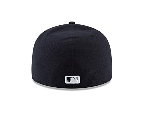 08e3ef902fc66 Amazon.com   New Era New York Yankees 2018 Postseason Side Patch 59FIFTY  Fitted Hat - Navy (7 1 8)   Sports   Outdoors