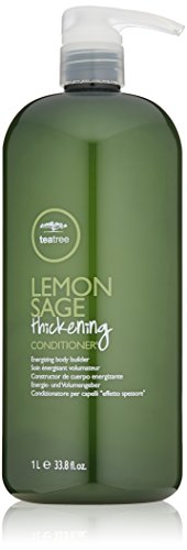 Tree Hooked Coat - Tea Tree Lemon Sage Thickening Conditioner, 33.8 Fl Oz