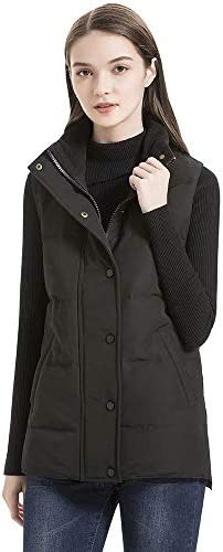 valuker Womens Lightweight Stretch Down Jacket with 90/% Down Puffer Jacket