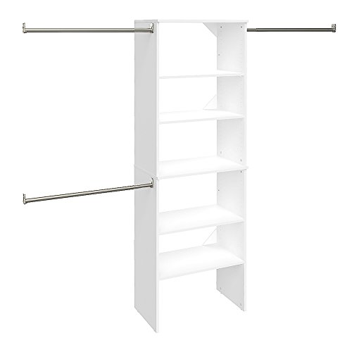 ClosetMaid 24869 SuiteSymphony 25-Inch Starter Tower Kit, Pure White