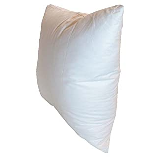 Pillowflex 14x20 Inch Premium Polyester Filled Pillow Form Insert - Machine Washable - Oblong Rectangle - Made in USA