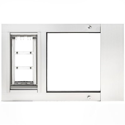 Sash Medium (Endura Flap Thermo Sash 3e Pet Door Color: White, Flap Size: Medium)