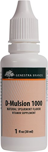 Genestra Brands D Mulsion Emulsified Spearmint